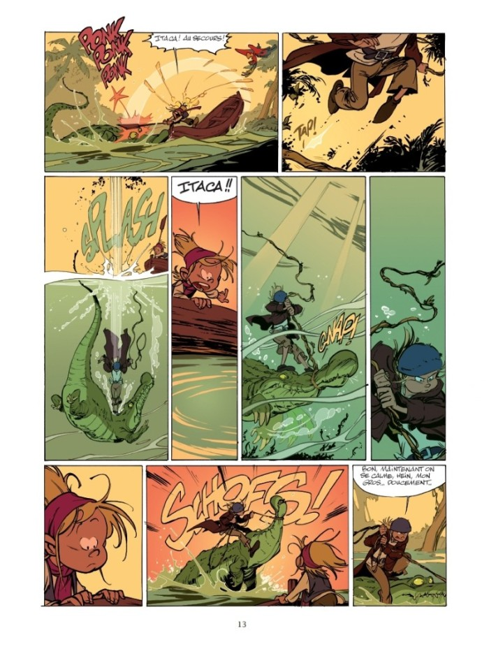 Les Campbell tome 1_ planche