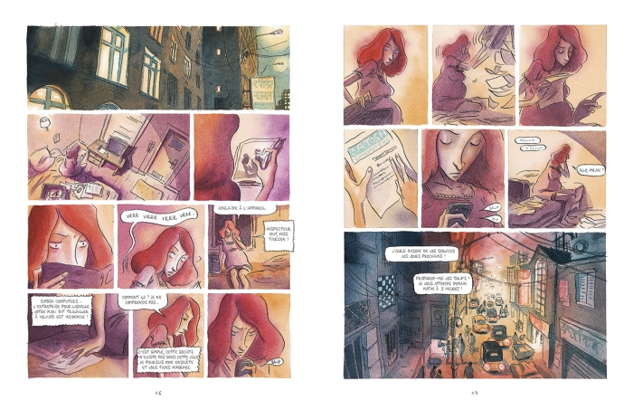 Rouge karma_ planches