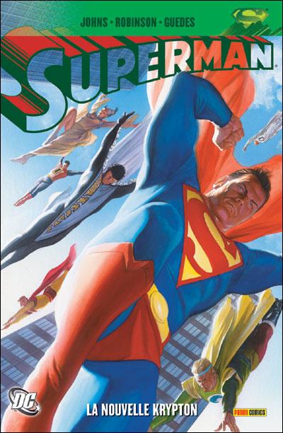 Superman la nouvelle Krypton tome 1