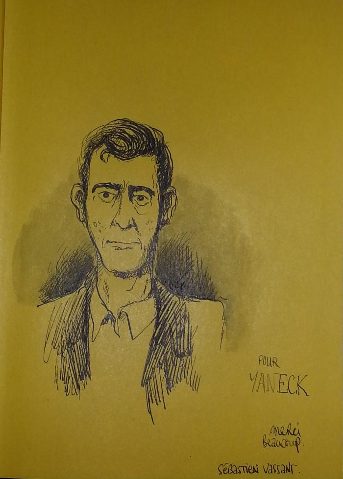 Dédicace Sébastien Vassant Crayonantes 2014