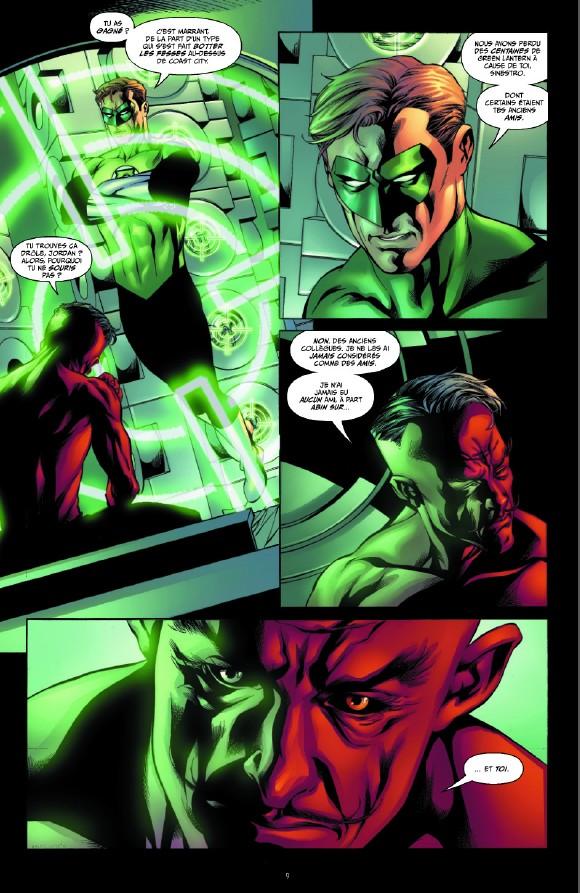 Geoff Johns présente Green Lantern tome 6_ planche