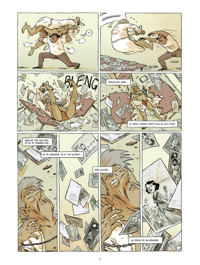 Johnny Jungle tome 2_ planche