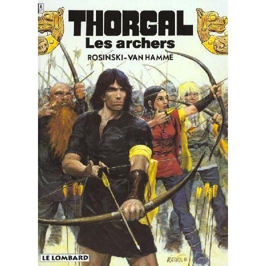 Thorgal-tome-9-Les-Archers