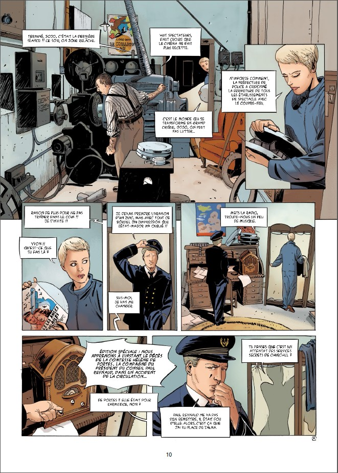 1940 Et si la France avait continué la guerre tome 1_ planche