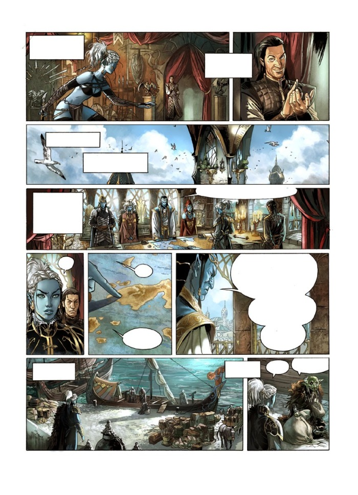 Elfes tome 11_ planche