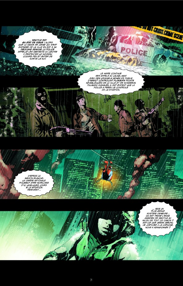 Green Arrow tome 3_ planche
