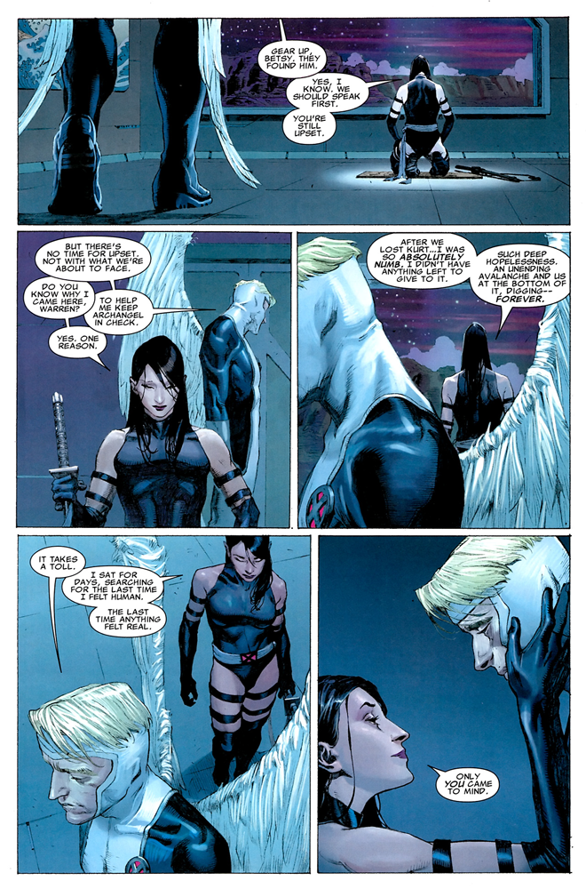 Marvel Deluxe Uncanny X-Force tome 1_ planche