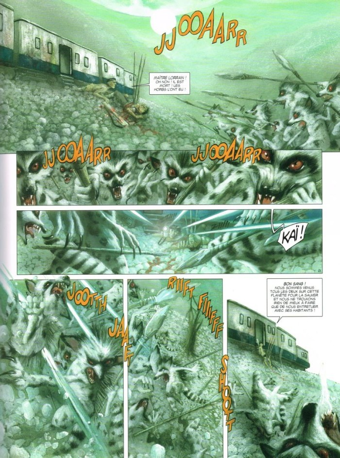 Rayons pour Sidar tome 2_ planche