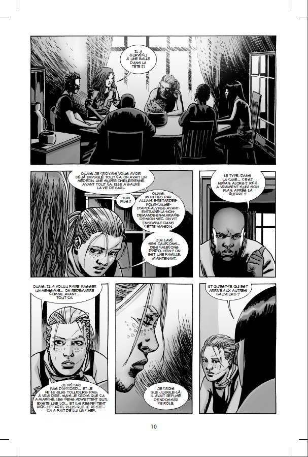 Walking Dead tome 23_ planche