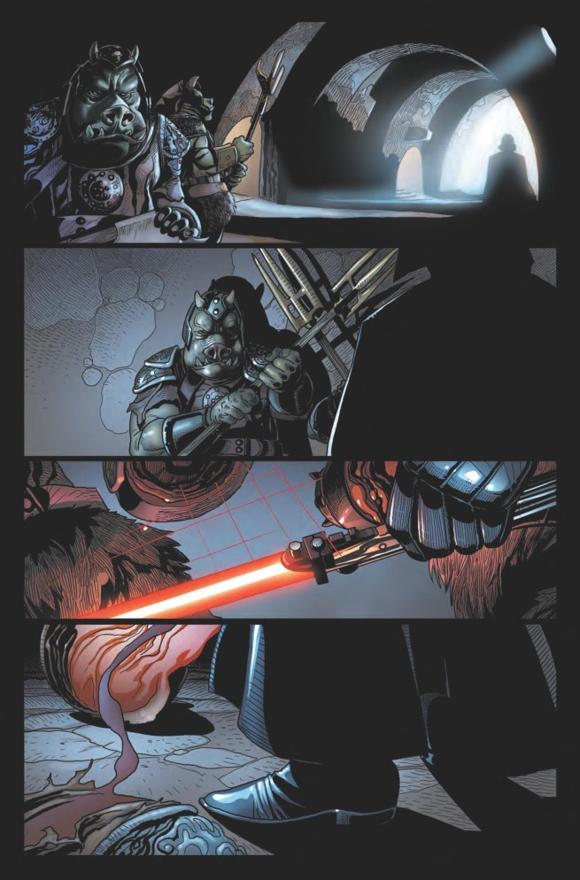 100% Star Wars- Dark Vador tome 1_planche