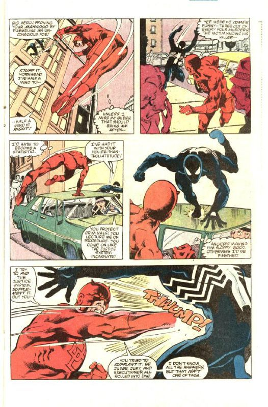 Best-of Marvel Spider-Man la mort de Jean Dewolff_ planche