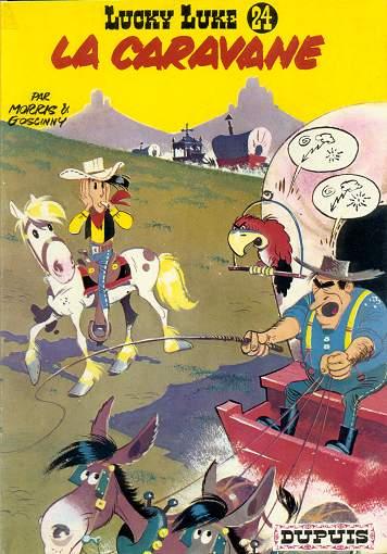 Lucky Luke tome 24- La caravane
