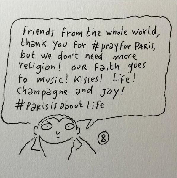 Joan Sfar_ Paris_ Attentats