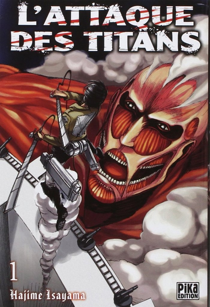 L'attaque des Titans tome 1