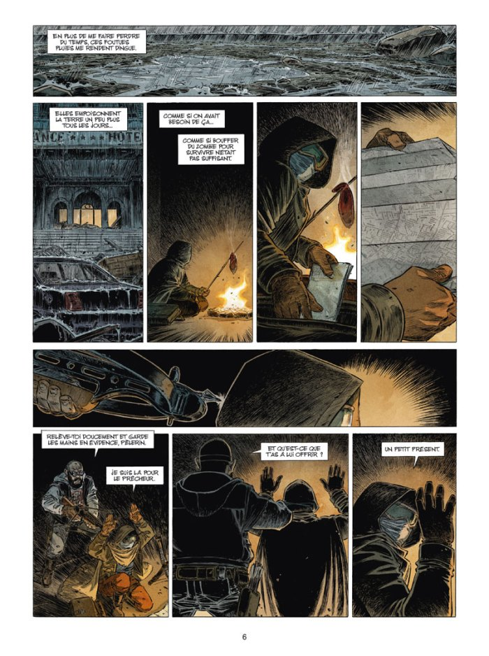 Zombies tome 4_ planche