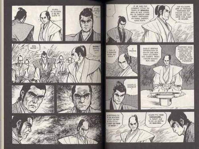 Lone Wolf and Cub tome 7_ planche