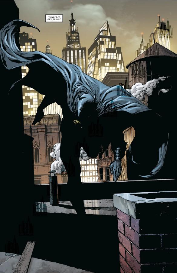 Batman terre-un tome 2_ planche