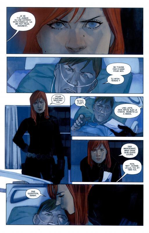 Black Widow tome 3- Liste noire_ planche, Edmonson, Noto, Panini comics