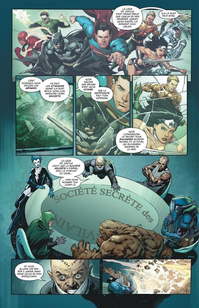 Justice League tome 8_ planche