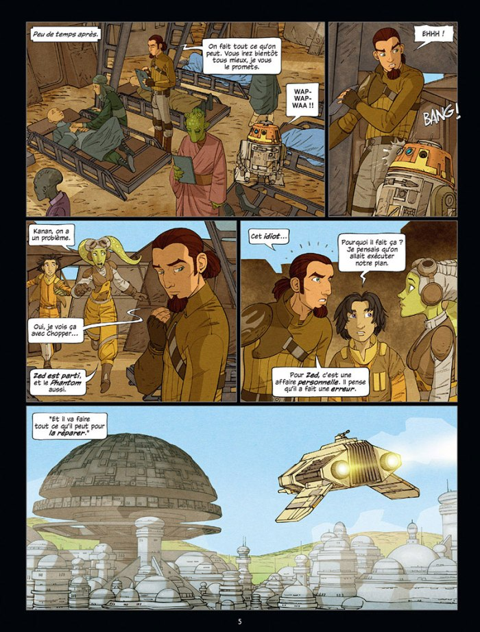 Star Wars Rebels tome 3_ planche
