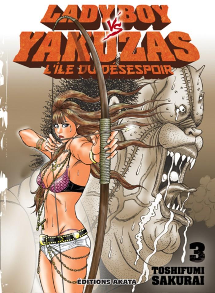 Ladyboy vs yakuzas tome 3