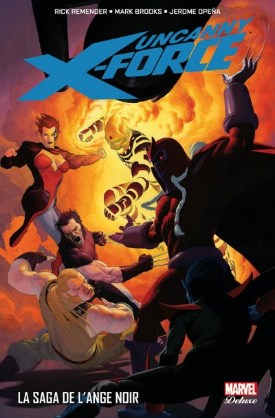 Marvel Deluxe Uncanny X-Force tome 2