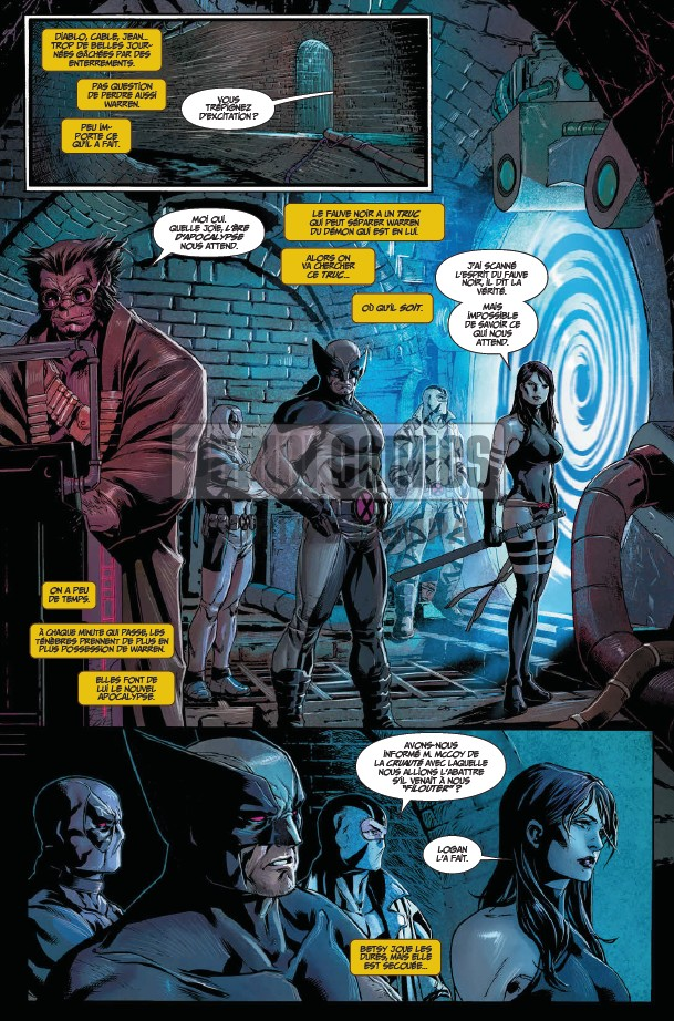 Marvel Deluxe Uncanny X-Force tome 2_ planche