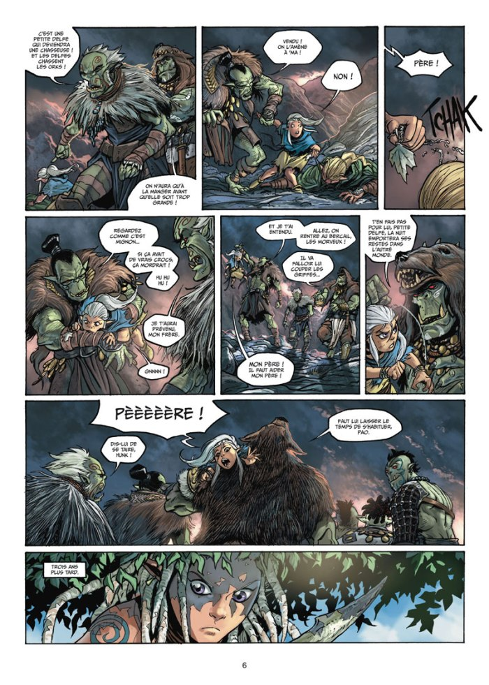 Elfes tome 12_ planche