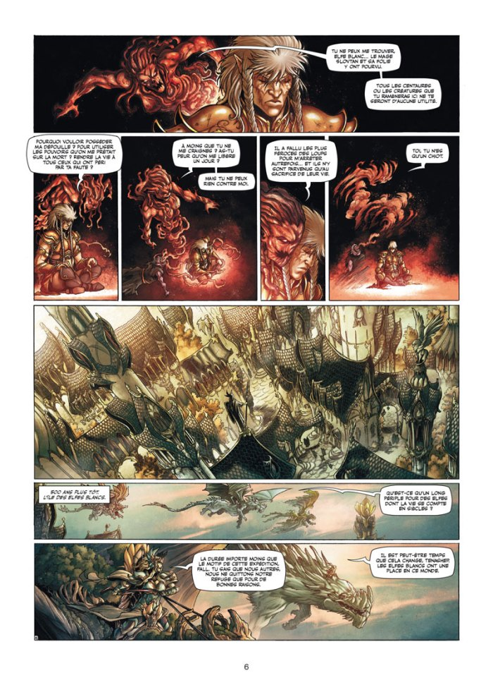 Elfes tome 13_ planches