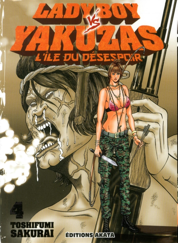 Ladyboy vs yakuzas tome 4