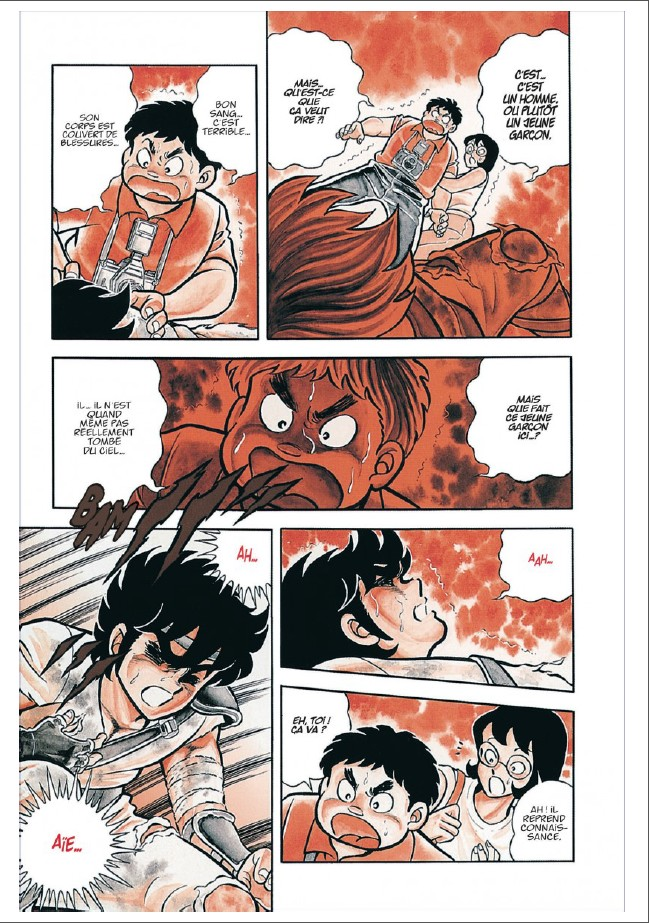 Saint Seiya Deluxe tome 1_ planche