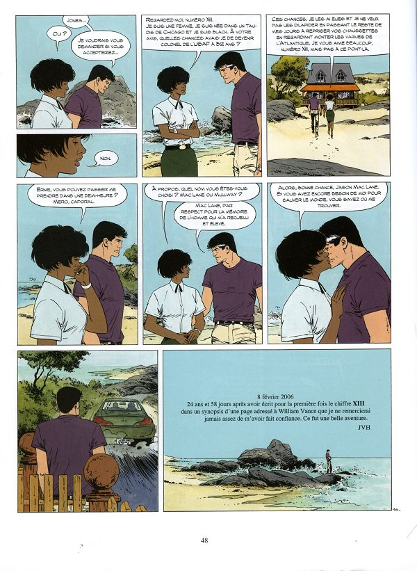 XIII Tome 19_ planche