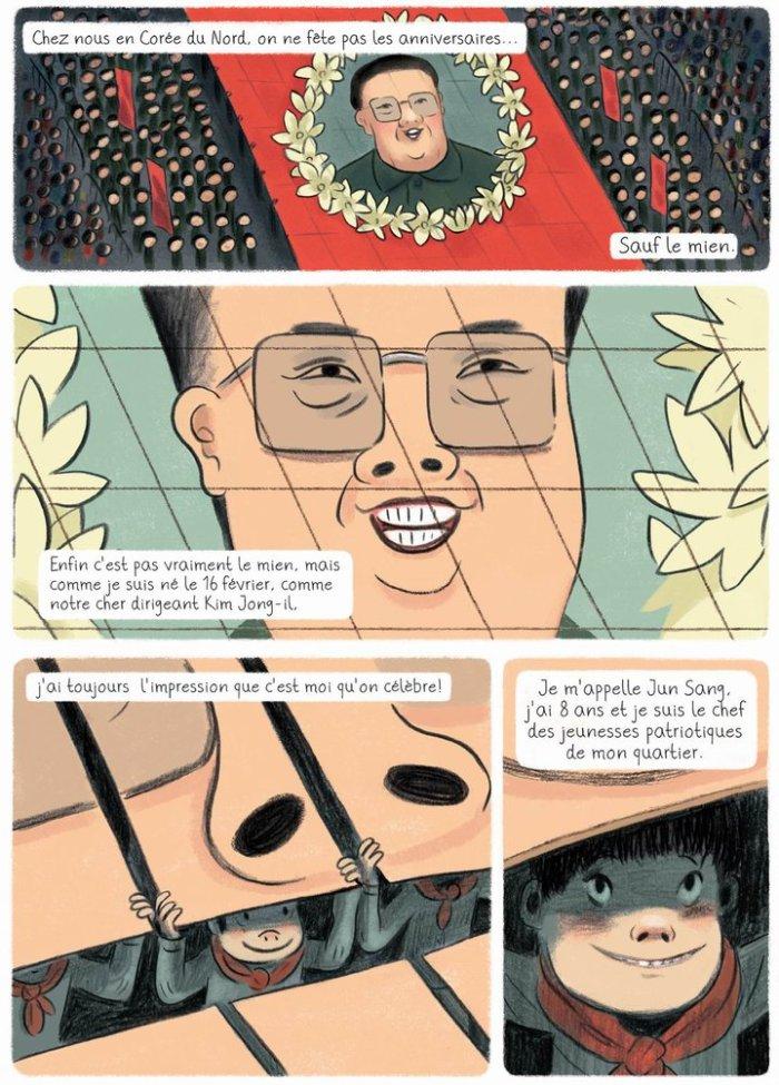 L'anniversaire de Kim Jong-Il_ planche