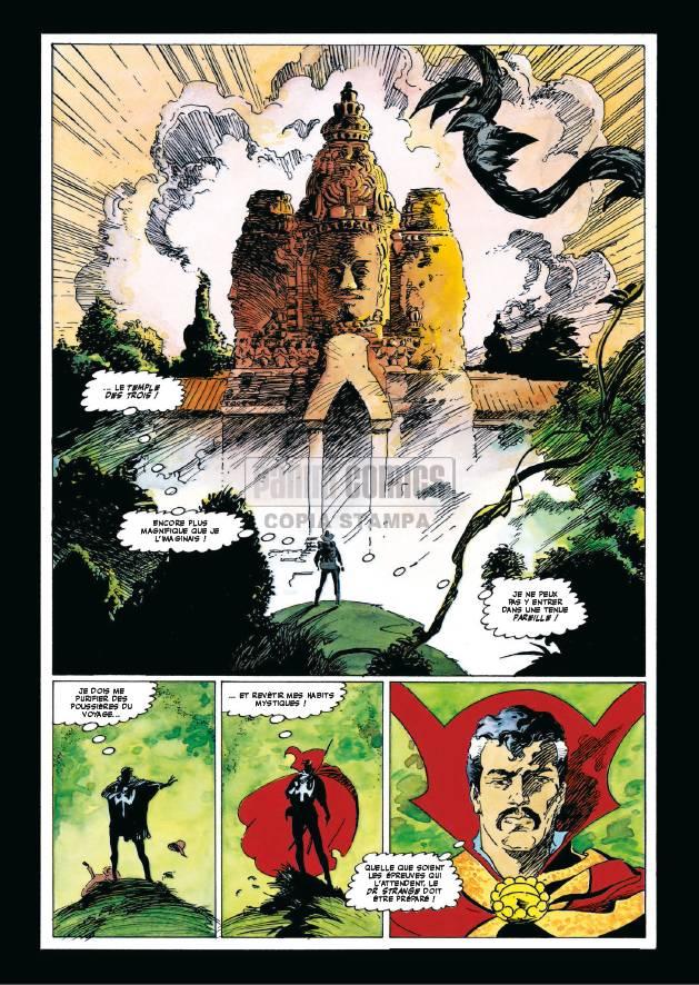 docteur-strange-docteur-fatalis-triomphe-et-tourment_-planche-roger-stern-mike-mignola-panini-comics